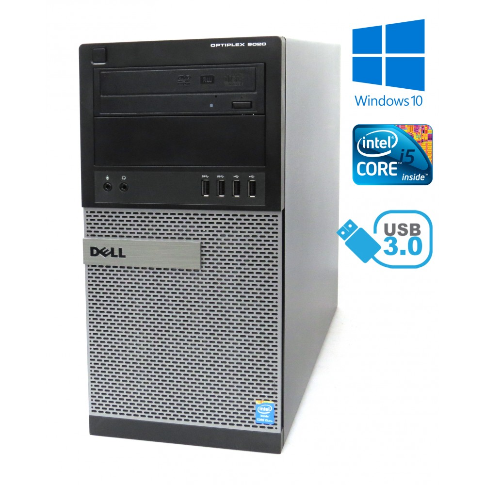 Dell Optiplex 9020 MT - i5-4690 / 8GB RAM / 500GB HDD/ DVD-RW / Windows 10