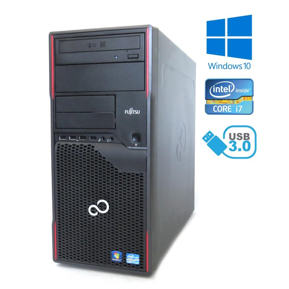 Fujitsu Esprimo P910 - i7-3770 3.40GHz / 8GB / 500GB HDD / Windows 10
