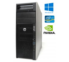 HP Z620 - 2x Xeon E5-2690 16-Core, 64GB RAM, 480GB SSD+1000GB HDD, Quadro 600, Windows 7