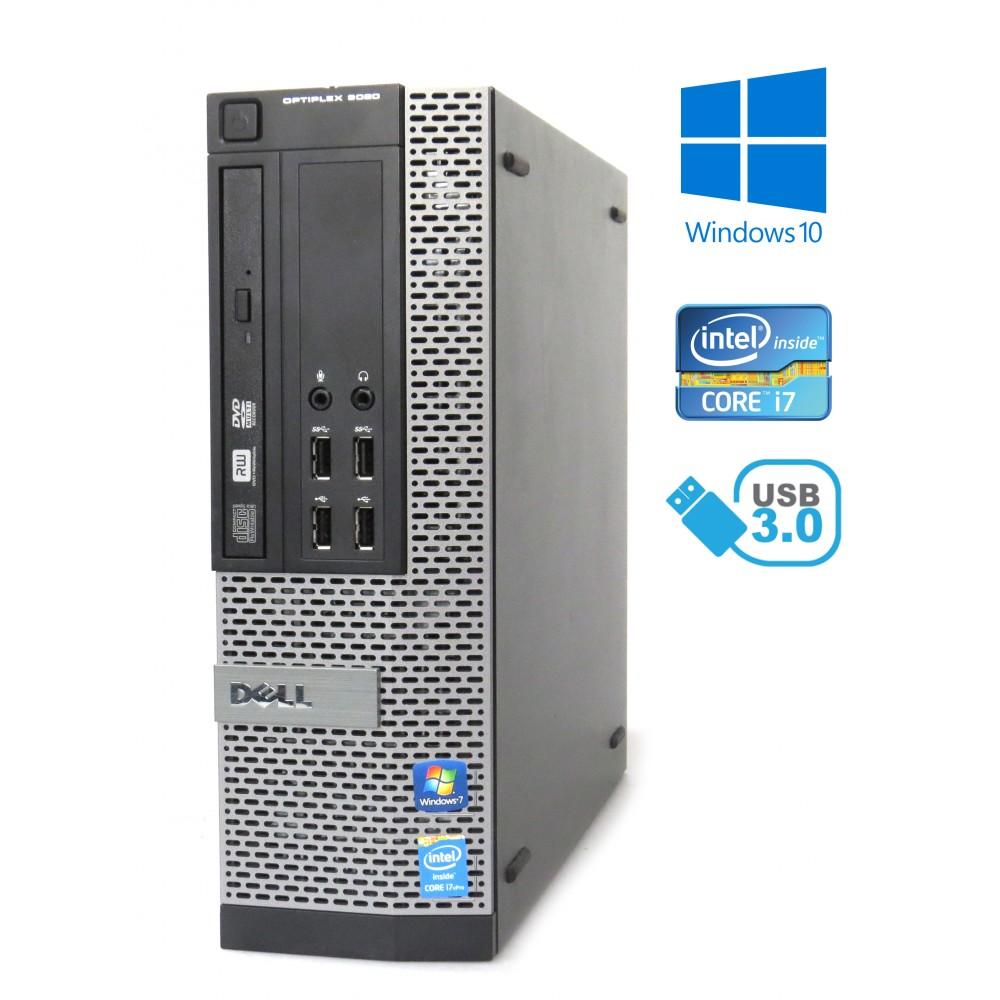 Dell Optiplex 9020 SFF - i7-4770/3.40GHz, 8GB RAM, 500GB HDD, DVD-RW, Windows 10