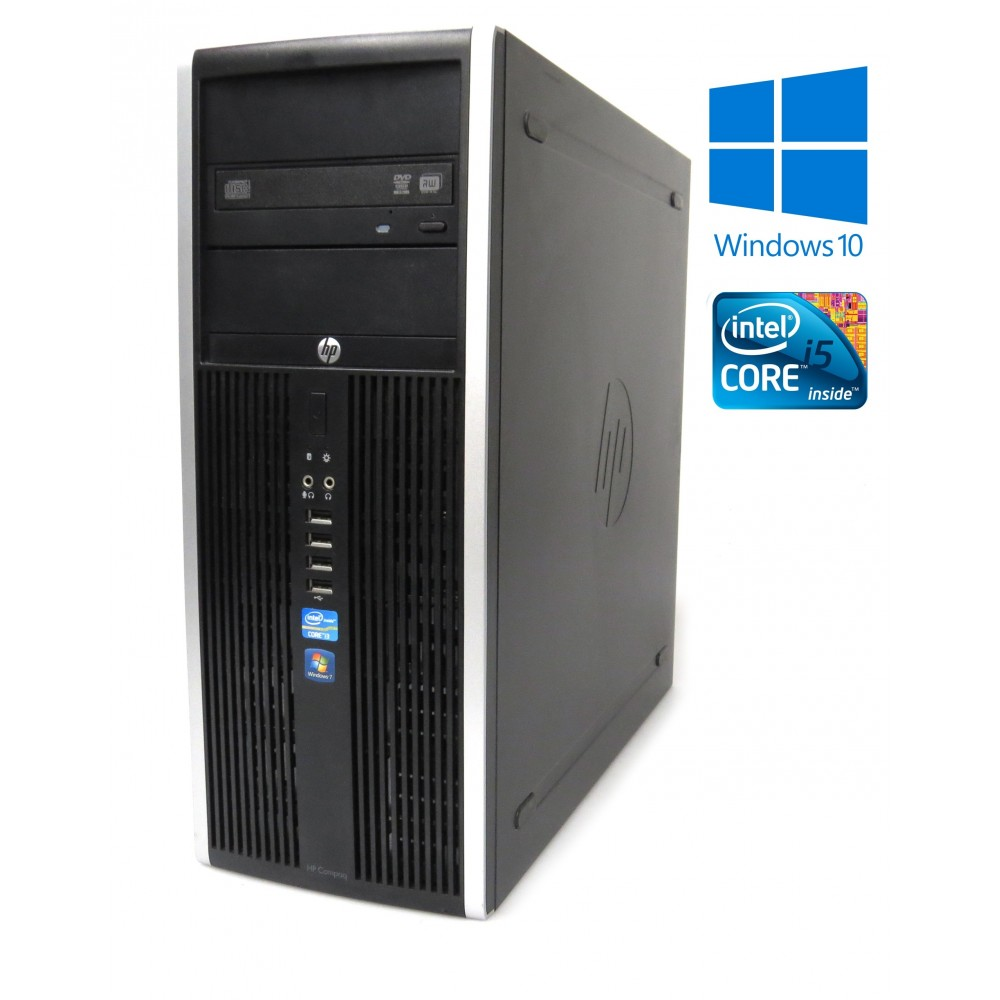 HP Compaq Elite 8200 CMT, i5-2400 - 3.10GHz, 8GB, 250GB HDD