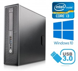 HP ProDesk 600 G1 SFF - Intel i7-4770/3.40GHz , 8GB RAM, 128GB SSD + 1TB HDD, Windows 10