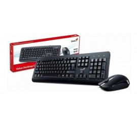 Set klávesnice + myš, drátový Genius KB-130 CZ,SK
