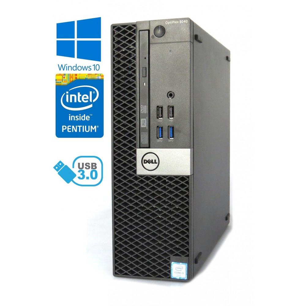 Dell Optiplex 5040 SFF - Intel i3-6100/3.70GHz - 8GB RAM - 128GB SSD + 500GB HDD - Windows 10