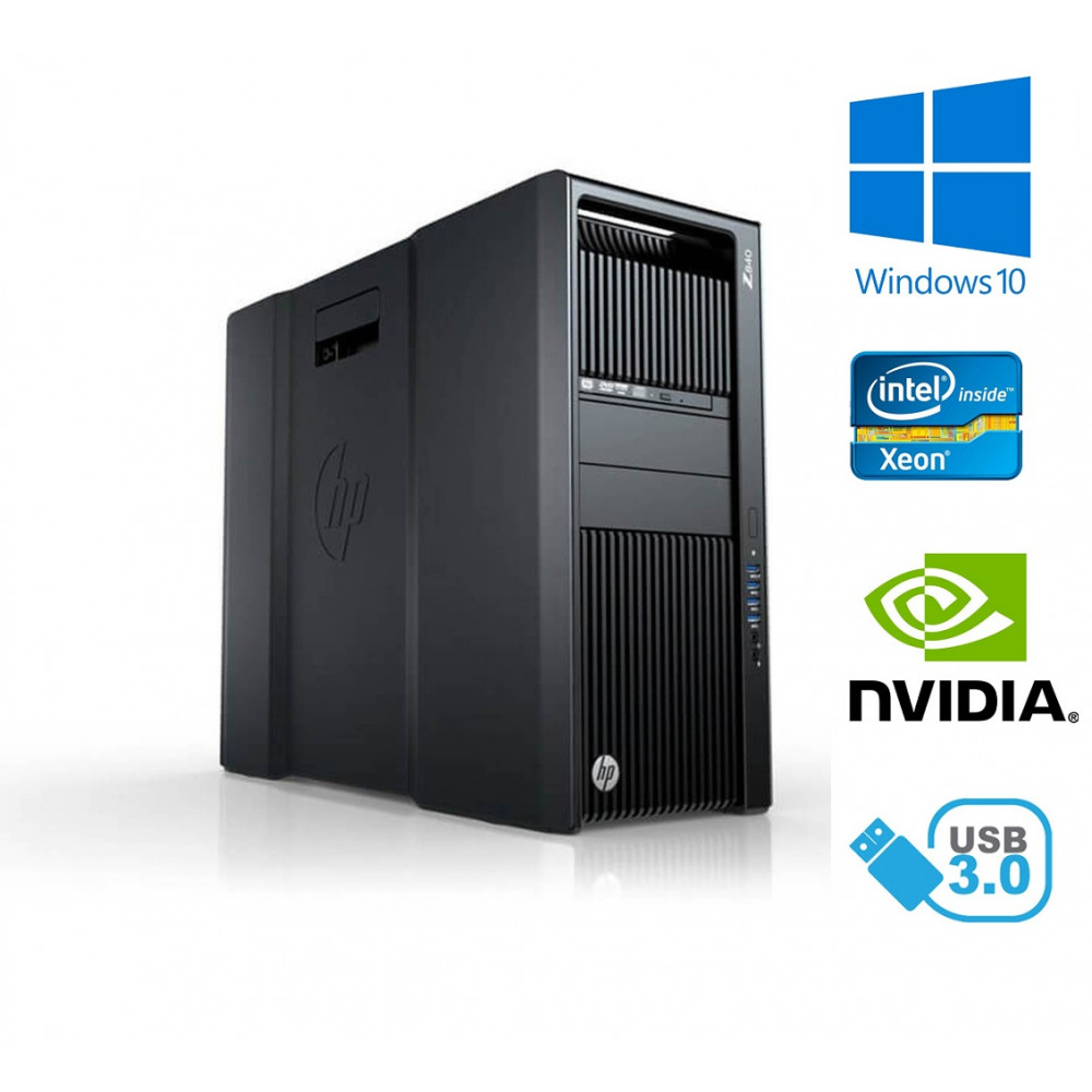 HP Z440 Workstation - Xeon Hexa-Core E5-1650 v3, 32GB, 750GB HDD, Quadro K620, W10