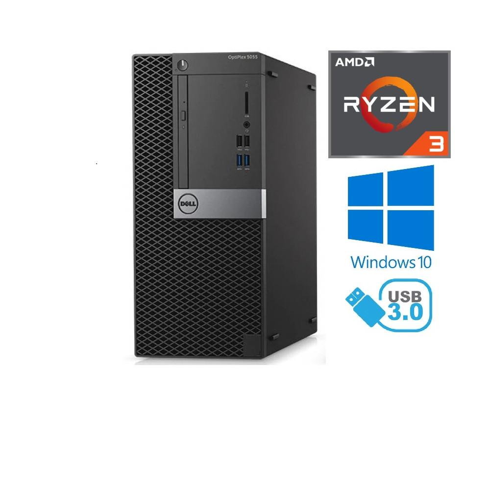 Dell Optiplex 7050 SFF - Intel i5-7600/3.50GHz, 8GB RAM, 250GB SSD + 500GB HDD, Windows 10