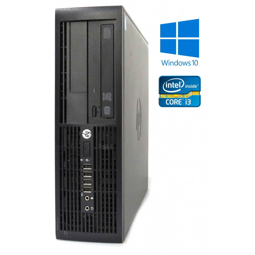 HP Compaq Pro 4300 SFF - Intel i3-3220/3.30GHz, 4GB RAM, 500GB, DVD-RW