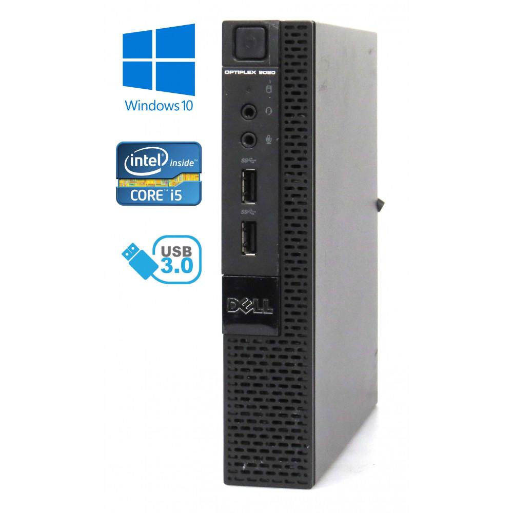 Dell Optiplex 9020M Micro - Intel i5-4590T/2.00GHz, 8GB RAM, 128GB SSD, Windows 10