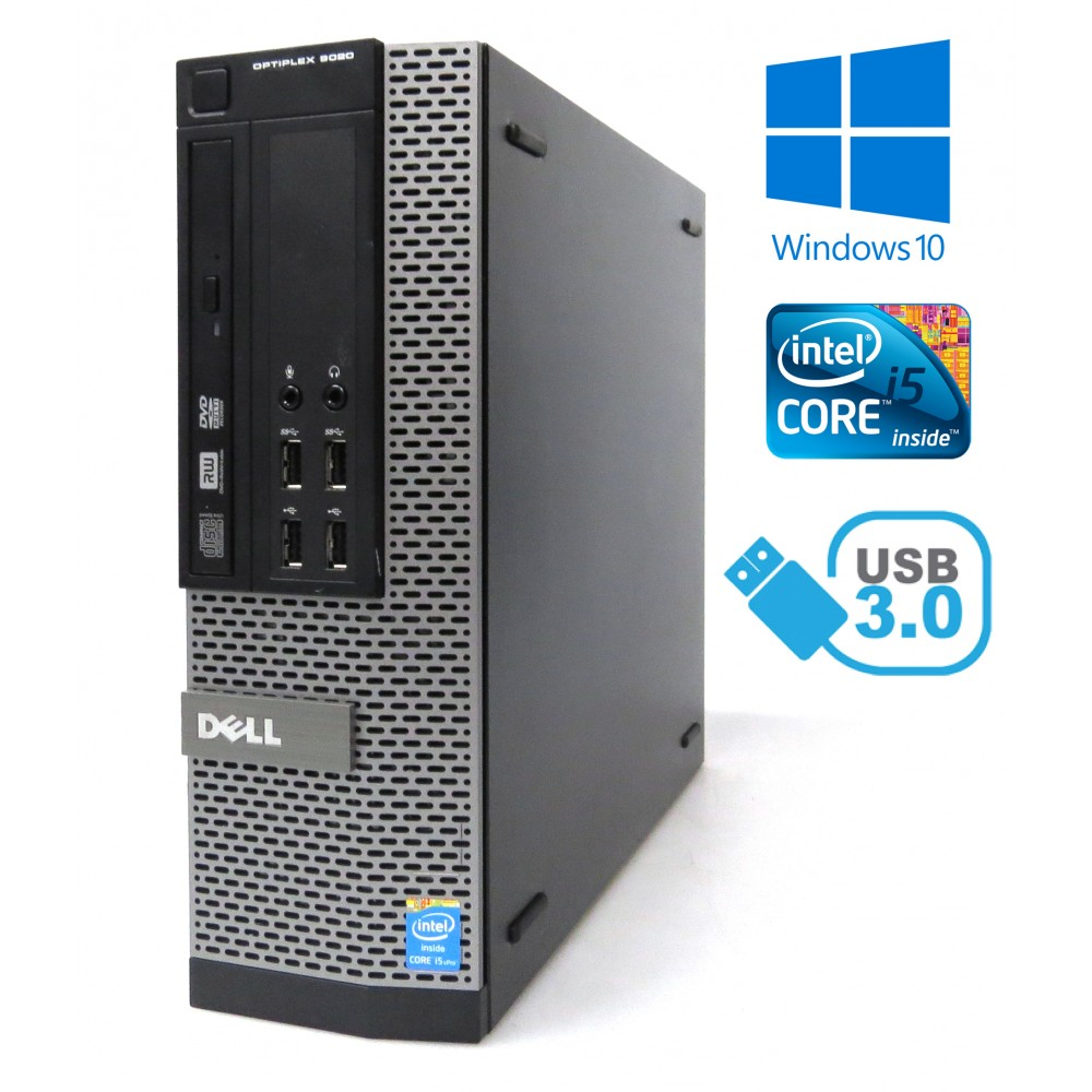 Dell Optiplex 9020 SFF - i5-4670 / 4GB RAM / 500GB HDD/ DVD-RW / Windows 10