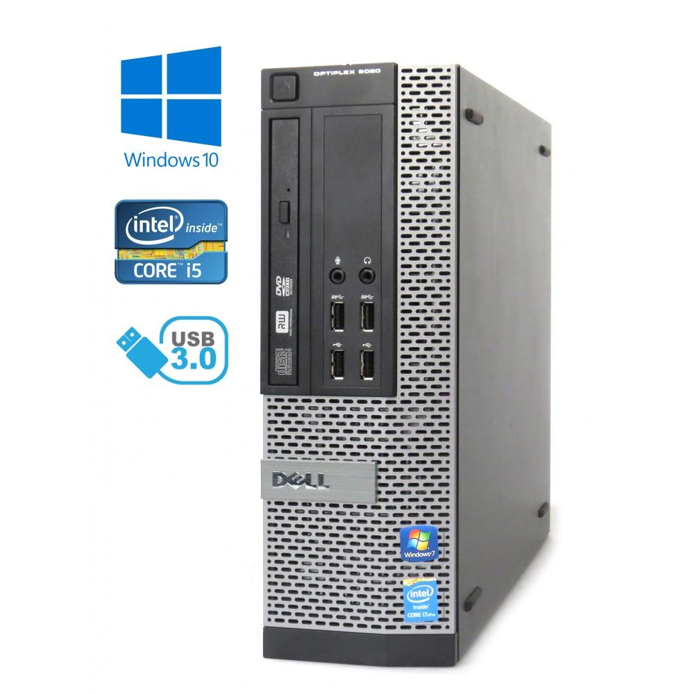 Dell Optiplex 9020 SSF - Intel i5-4590/3.30GHz, 8GB RAM,128GB SSD, DVD-RW, Windows 10