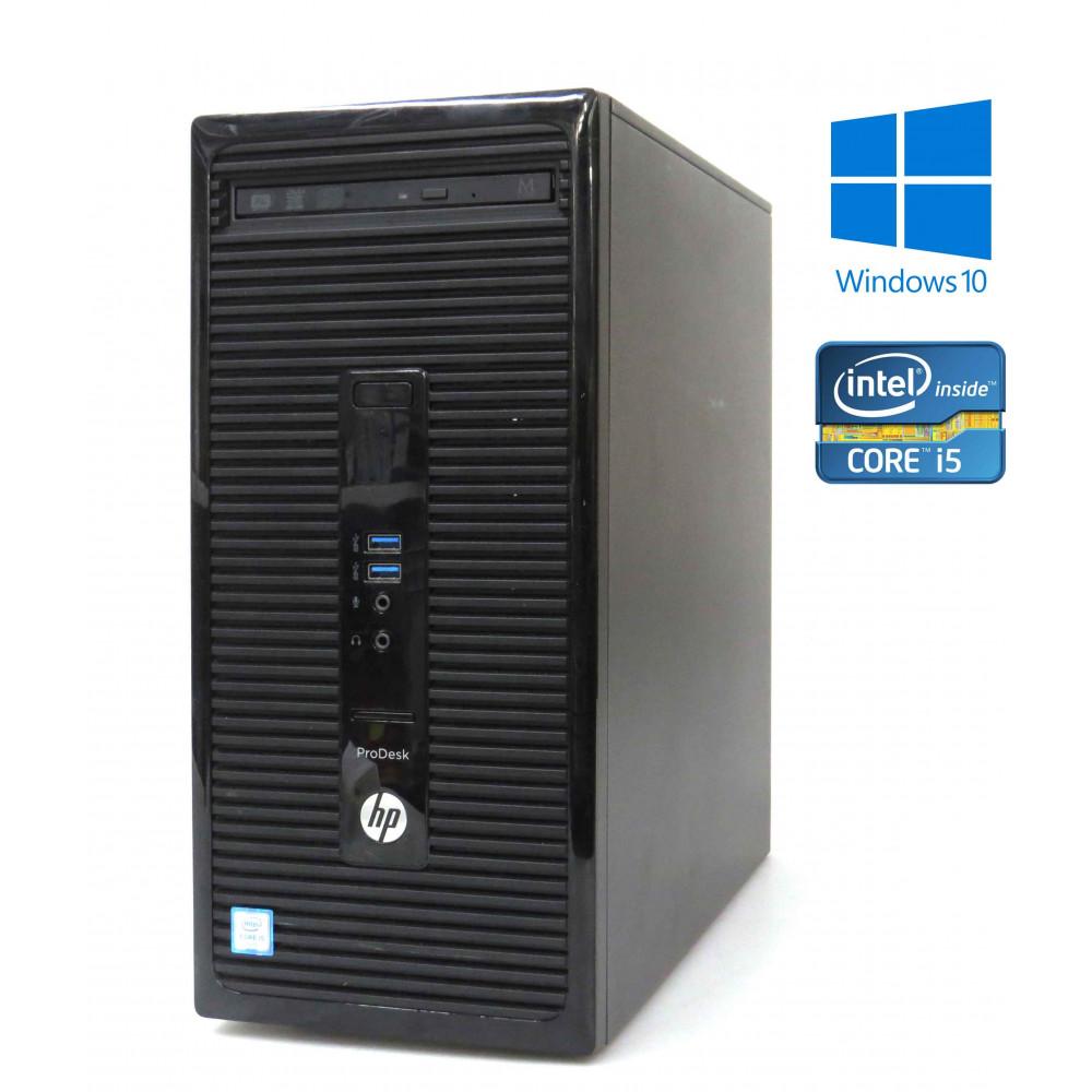 HP ProDesk 400 G3 MT - Intel i5-6500/3.20GHz, 4GB RAM, 500GB HDD, Windows 10
