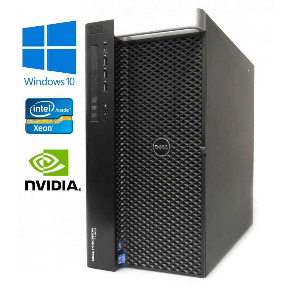 Dell Precision T7610 Octa-Core E5-2650 V2 32GB RAM 1380GB HDD Quadro K5000 W10P