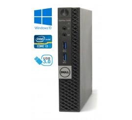 Dell Optiplex 3040 Micro - Intel i3-6100T/3.20GHz, 4GB RAM, 256GB SSD, Windows 10