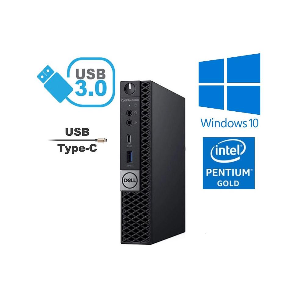 Dell Optiplex 5060 SFF - Intel i5-8400/6core - 8GB RAM - 256GB SSD - Windows 10