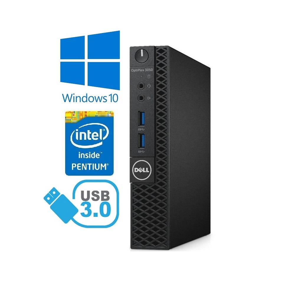 Dell Optiplex 3050 SFF - Intel i5-6500/3.20GHz, 8GB RAM, 250GB SSD + 500GB HDD, Windows 10