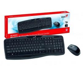 Set klávesnice + myš, bezdrátový Genius KB-8000X CZ,SK